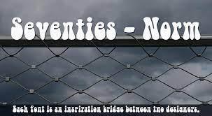 Seventies Norm Laser Font