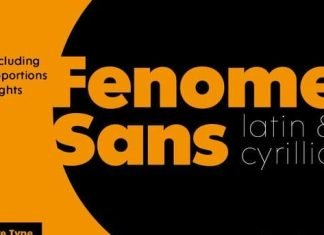 Fenomen Sans Font
