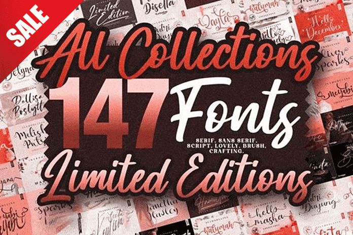 All Collections 147 Font Families