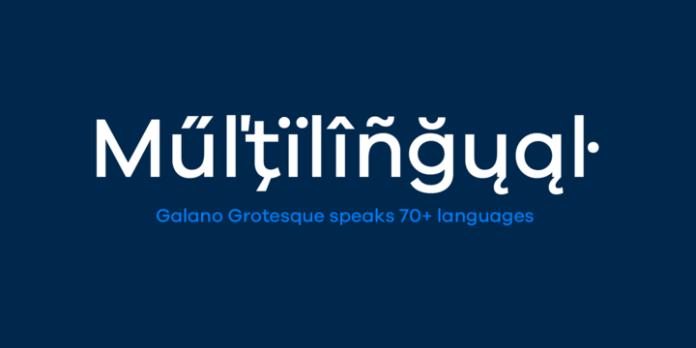 Galano Grotesque Font Family