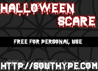 Halloween Scare St Font