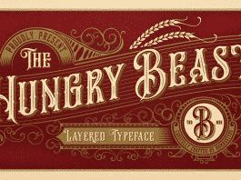 Hungry Beast Family 5 Styles Font