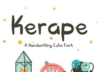 Kerape Handwriting Font