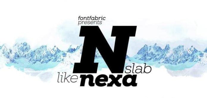 Nexa Slab Font Family