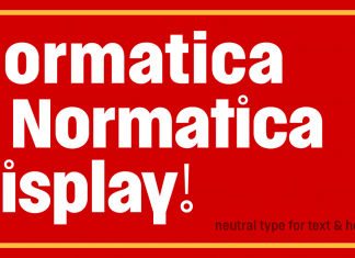 Normatica Font Family