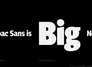 Tabac Big Sans Font