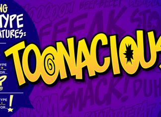 Toonacious Font