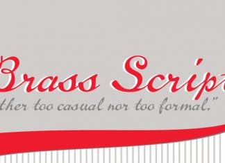 Brass Script Font