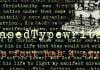 Erased Typewriter 2 Font